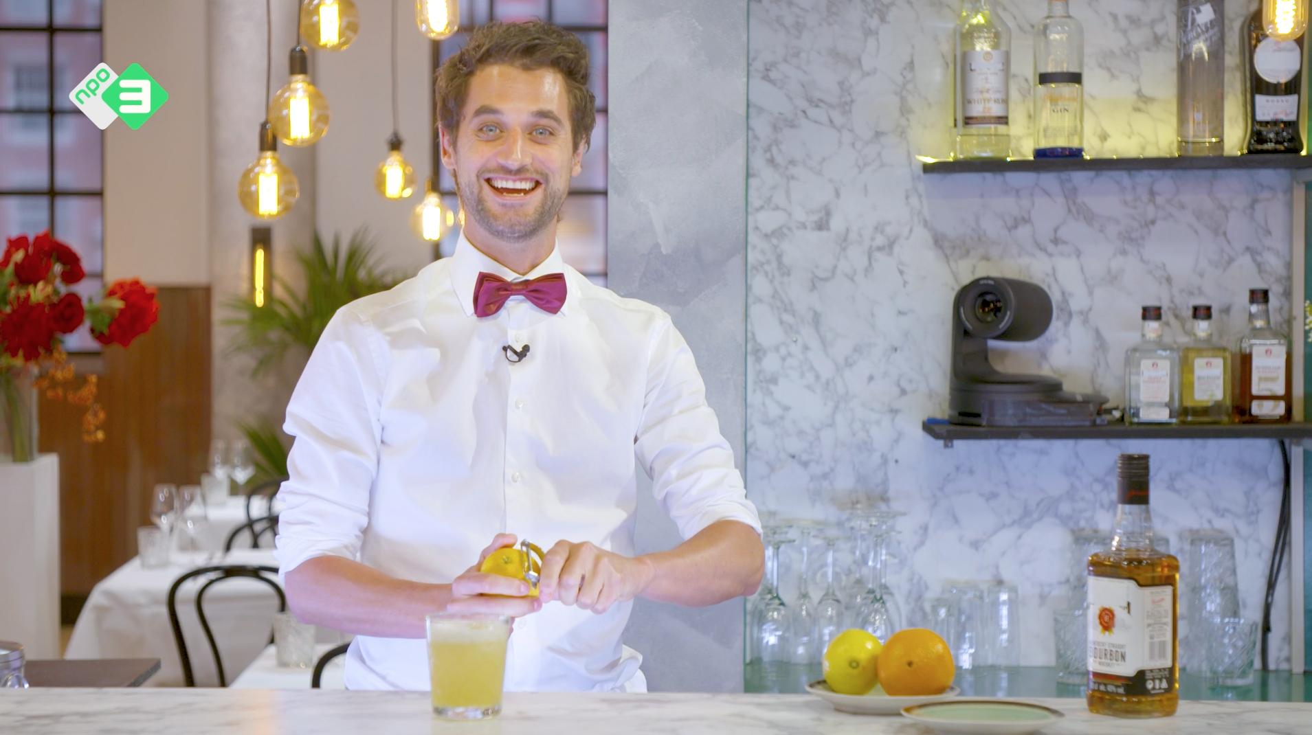 Afbeelding van Cocktails met Victor: Whiskey Sour