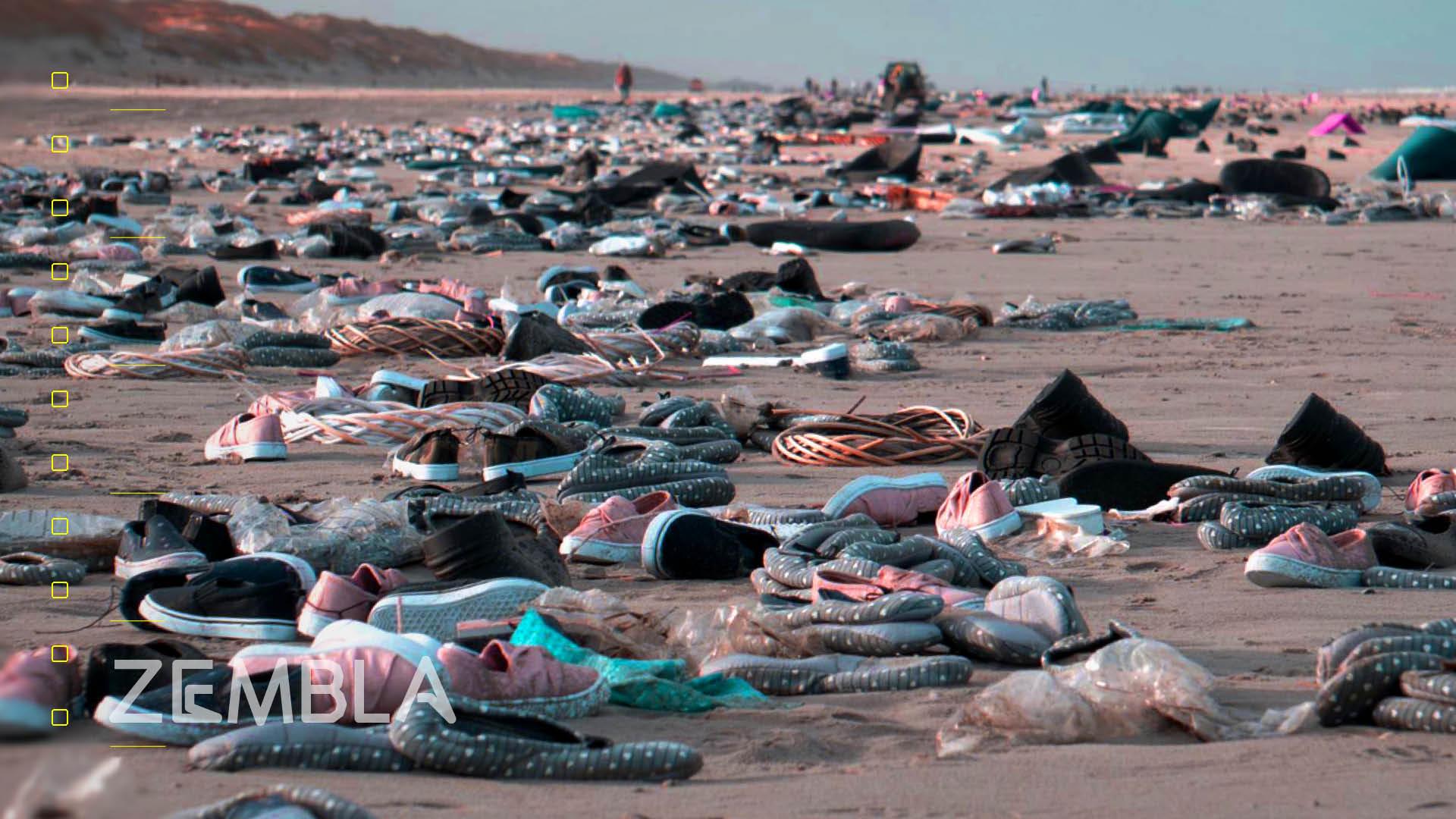 Afbeelding van 'Bizar': dit is slechts een fractie van de rotzooi van de containerramp
