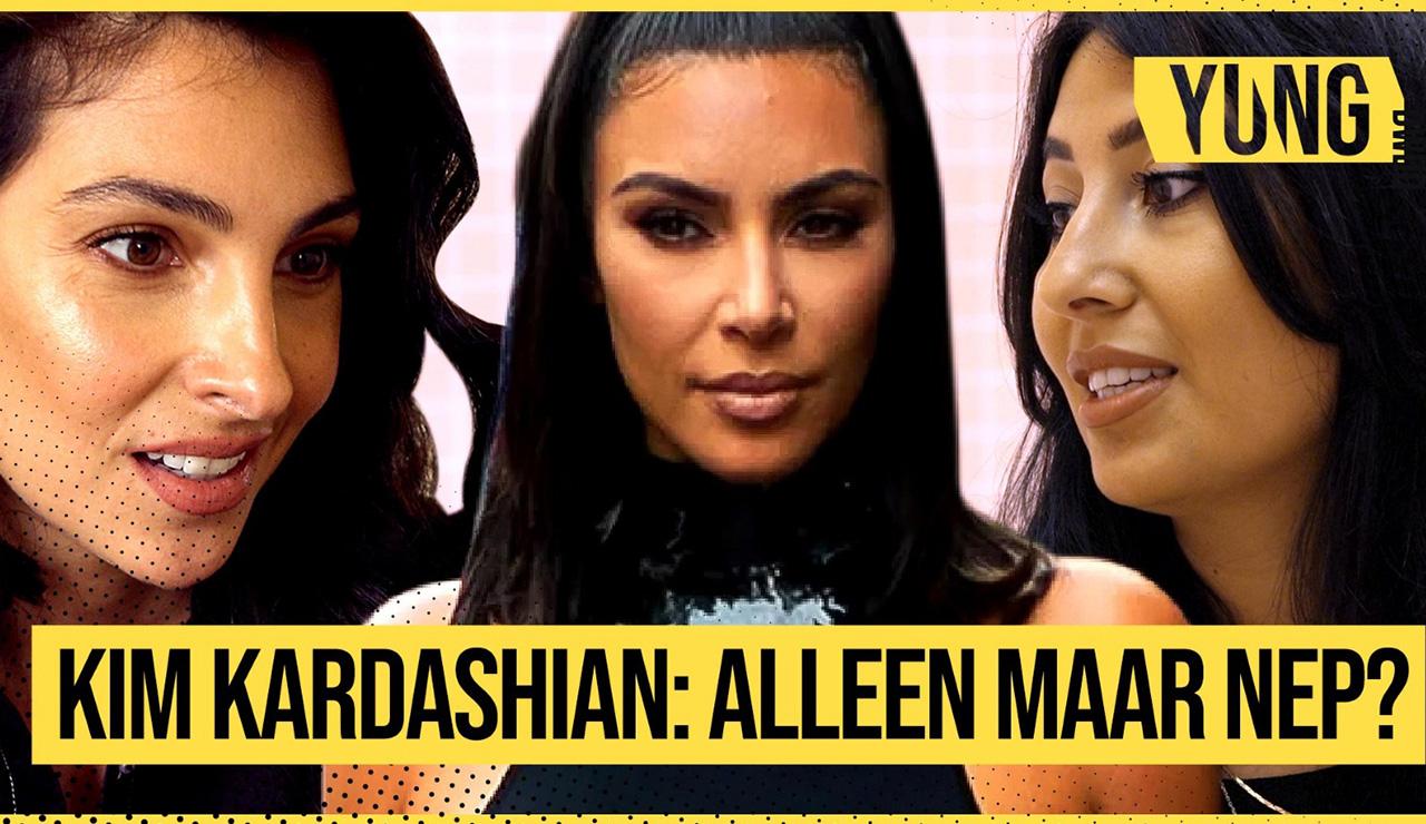 Afbeelding van 'Kim Kardashian is echt mijn rolmodel' | YUNG DWDD