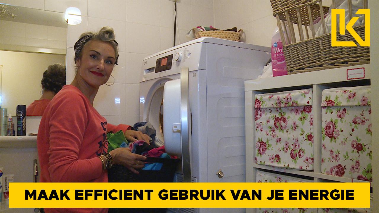 Afbeelding van Zo bespaar je op het verbruik van je wasdroger