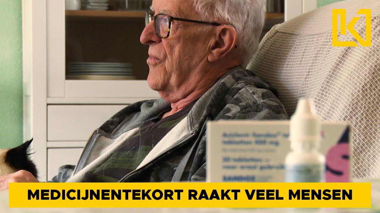Afbeelding van Pieter ondervindt medicijnentekort aan den lijve