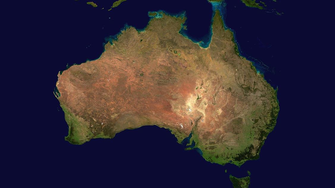 Afbeelding van Australië staat in brand