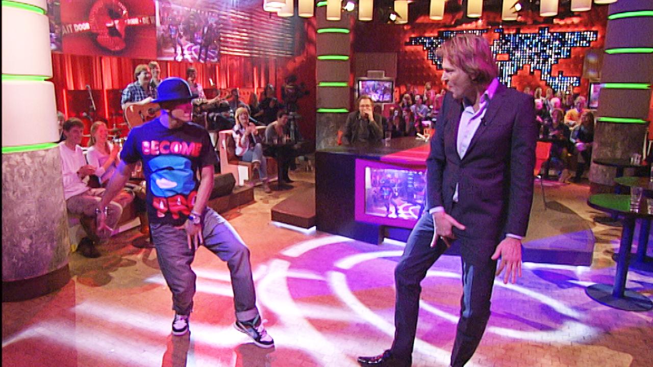 Afbeelding van #TBT: Matthijs danst als Michael Jackson