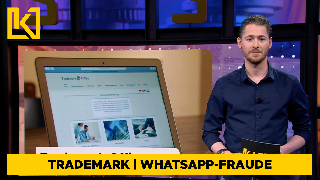 Afbeelding van Trademark Office failliet | Hondenpoepzakjes-test | WhatsApp-fraude
