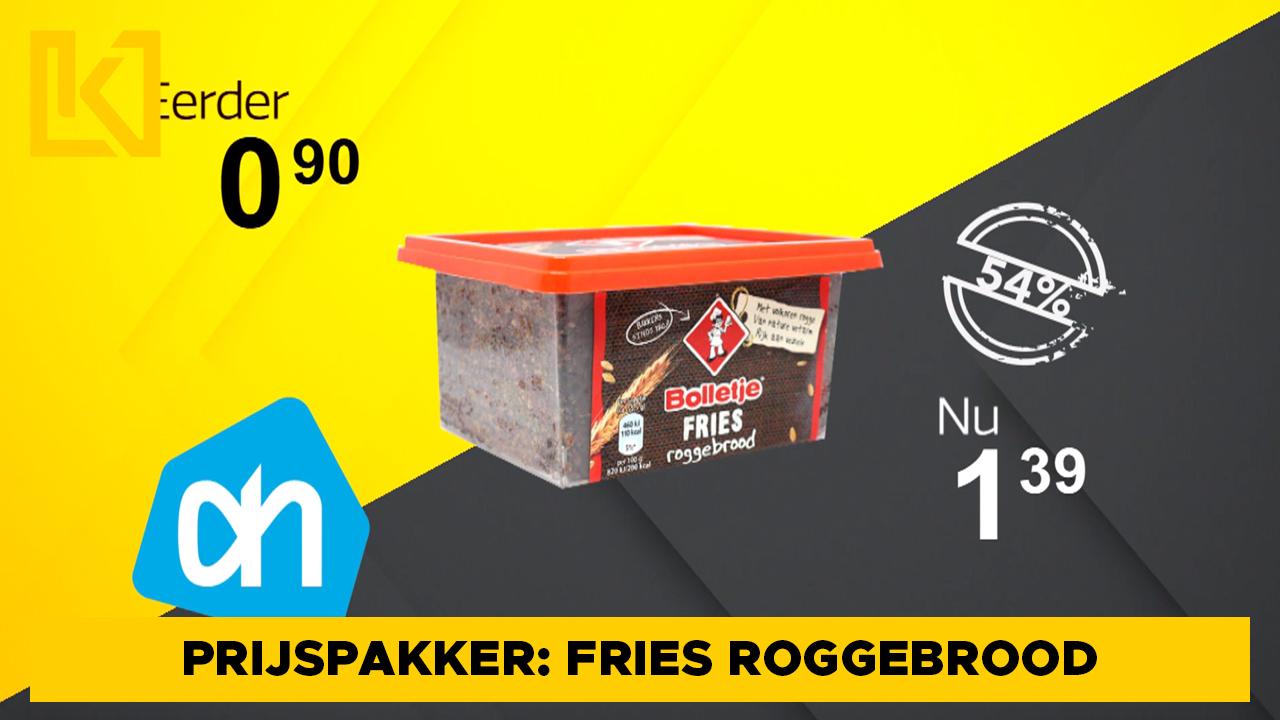 Afbeelding van Prijspakker: Bolletje Fries roggebrood van Albert Heijn