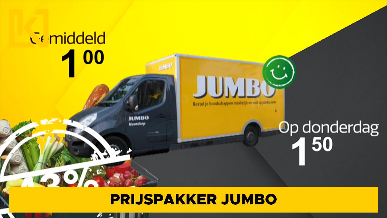 Afbeelding van Prijspakker: bezorgkosten Jumbo