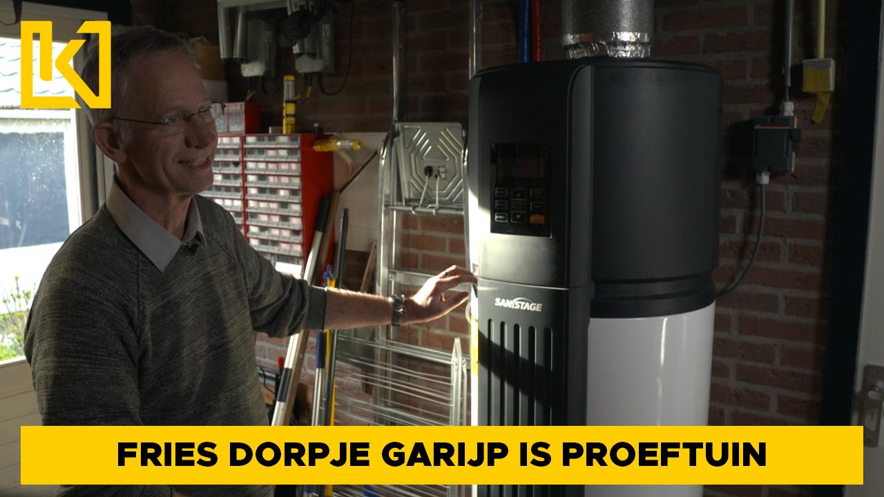 Fries dorpje Garijp is proeftuin voor aardgasvrij wonen