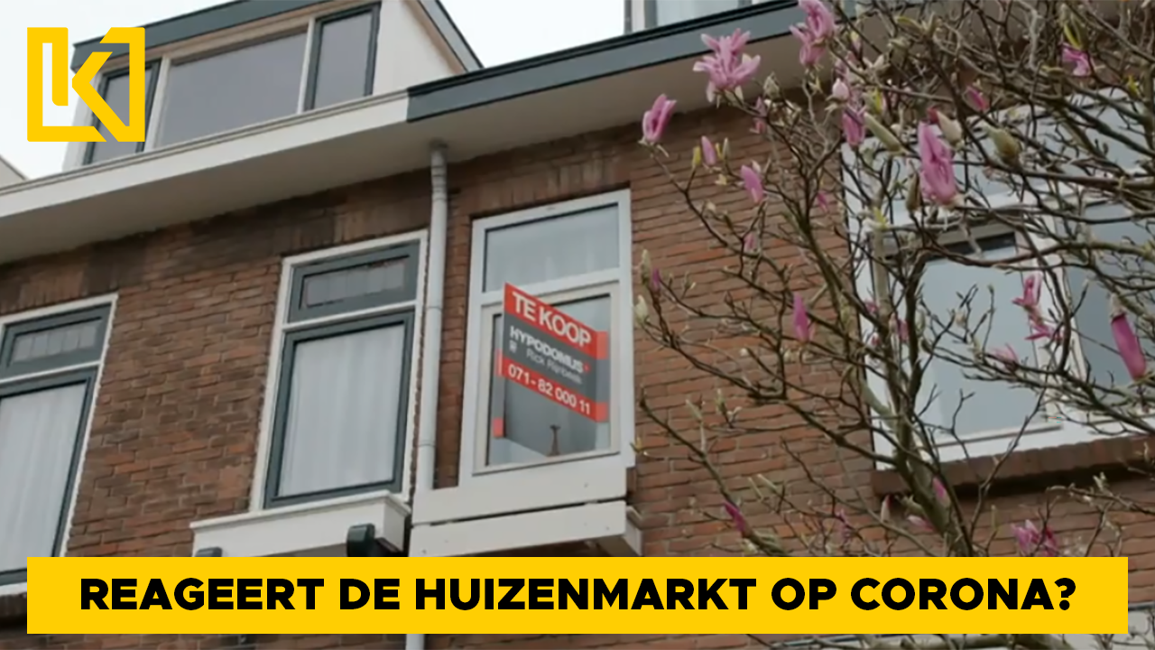 Woningmarkt voelt eerste gevolgen van de coronacrisis