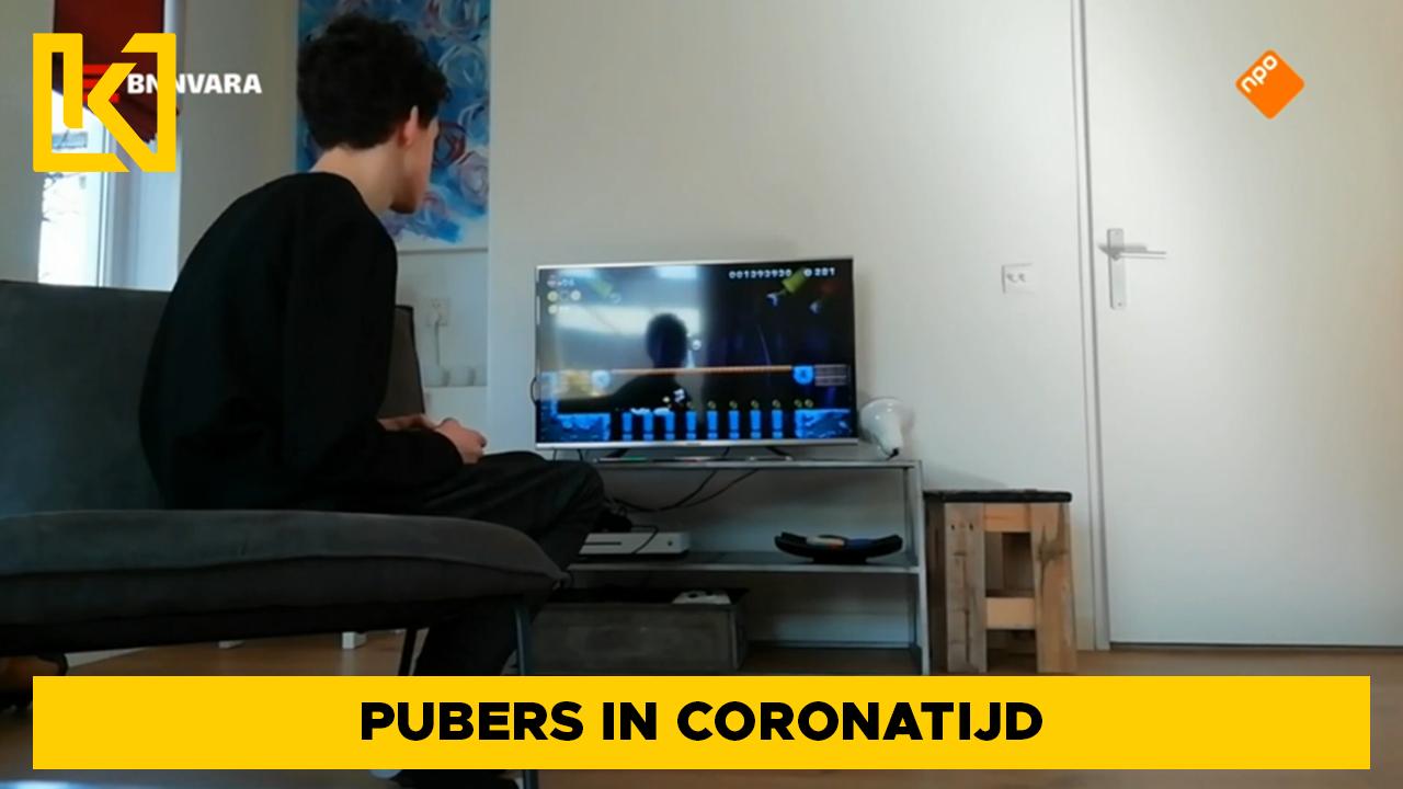 Afbeelding van Pubers in coronatijd