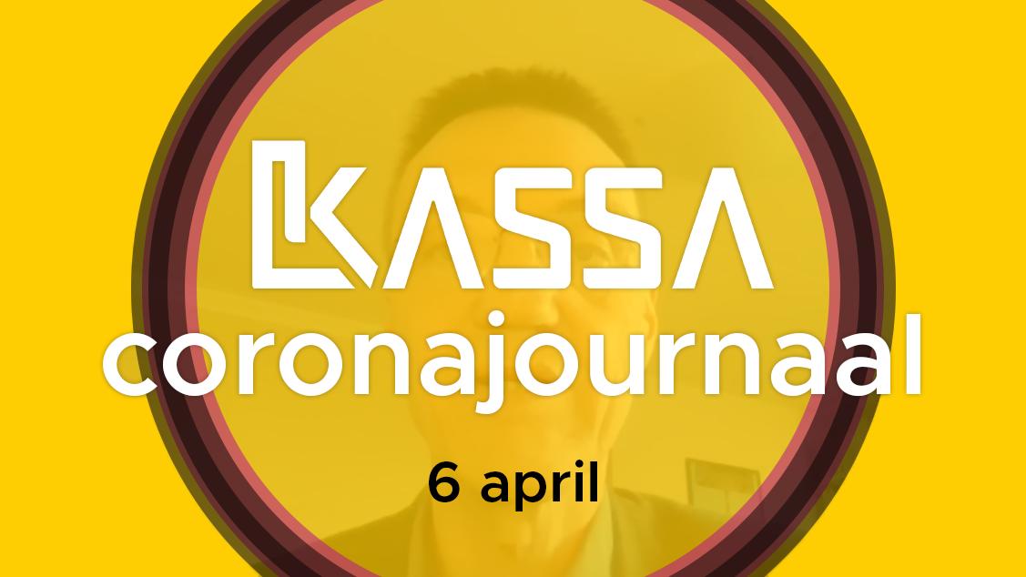 Afbeelding van Kassa Coronajournaal | 6 april