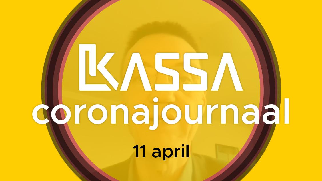 Afbeelding van Kassa Coronajournaal | 11 april