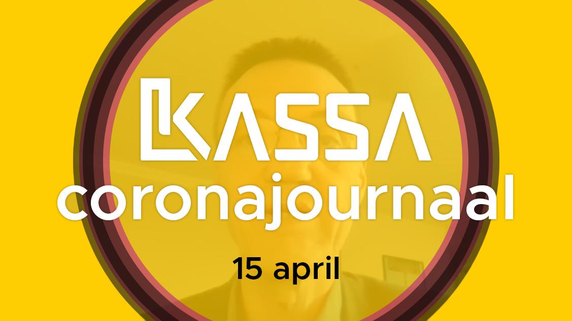Afbeelding van Kassa Coronajournaal | 15 april