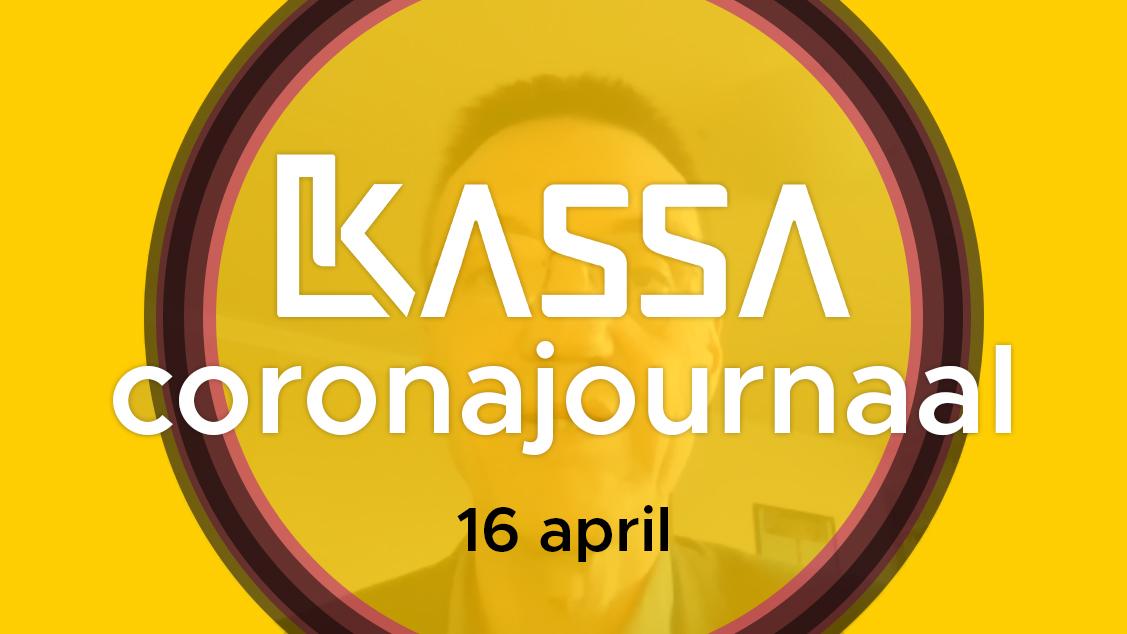 Afbeelding van Kassa Coronajournaal | 16 april