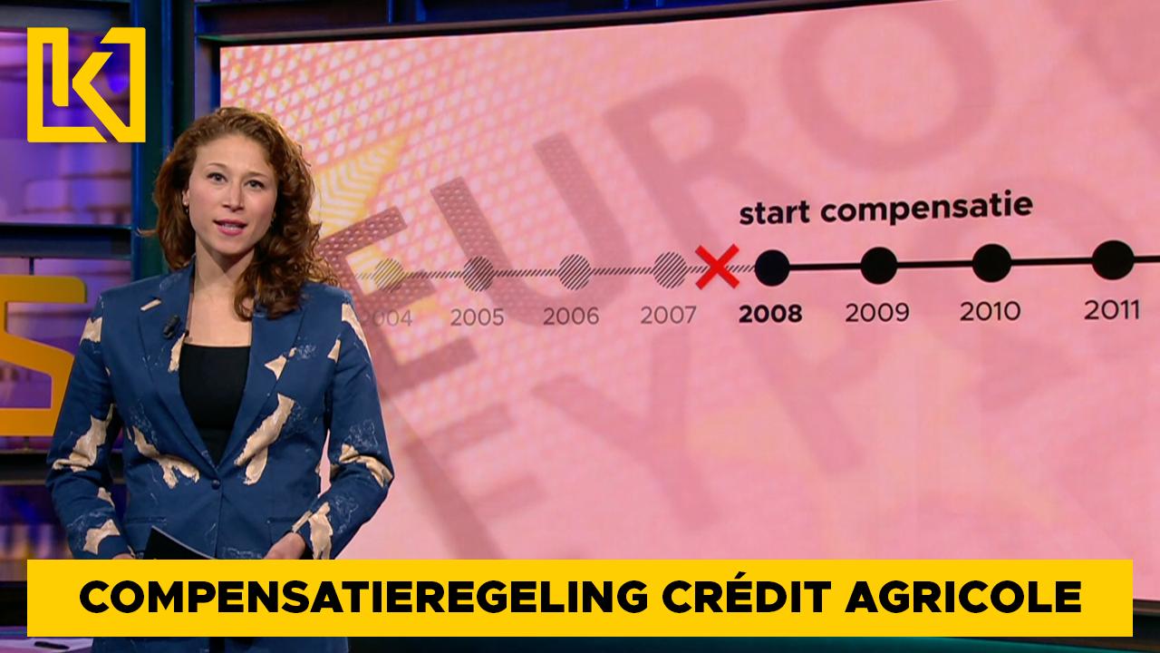 Afbeelding van Compensatie wurgkredieten Crédit Agricole beperkt