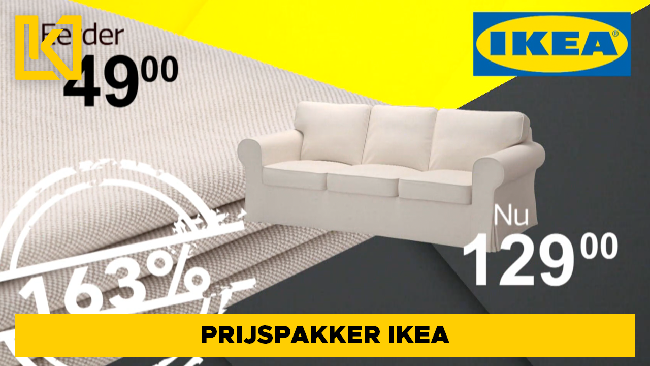 Afbeelding van Prijspakker: EKTORP 3-zits bankhoes van IKEA