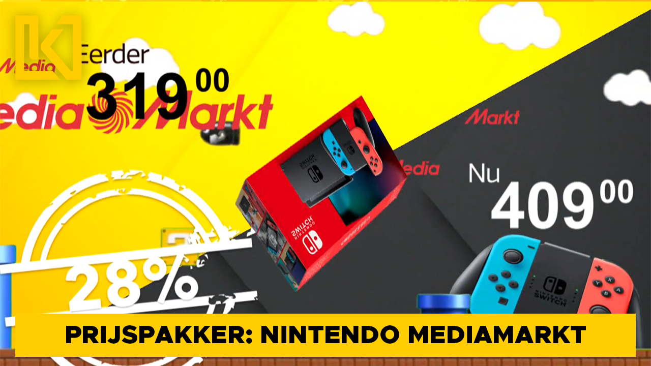 Afbeelding van Prijspakker: Nintendo Switch MediaMarkt