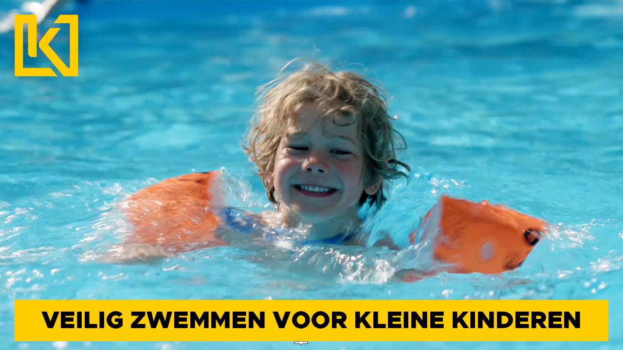 Afbeelding van Veilig zwemmen voor kleine kinderen