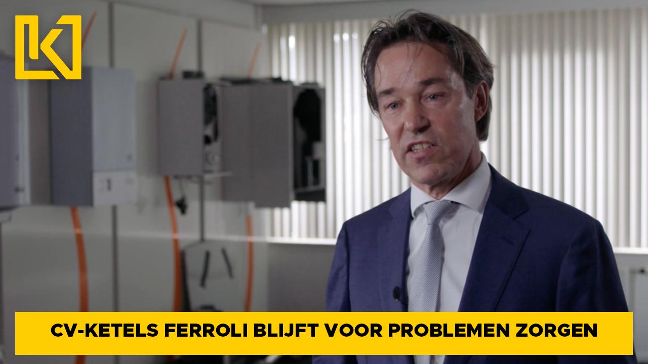 Ferroli-ketels blijven voor problemen zorgen