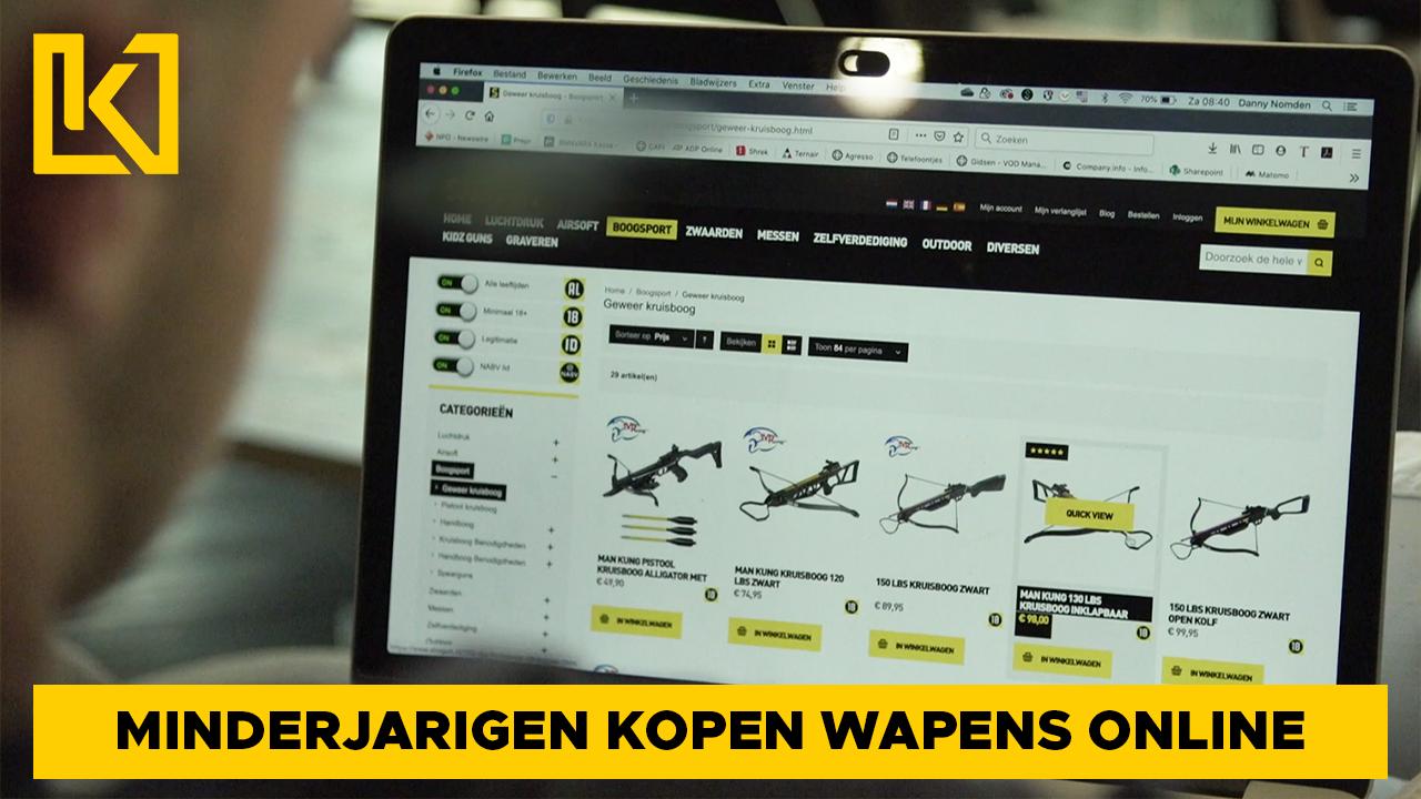 Afbeelding van Hoe makkelijk kun je online wapens bestellen?