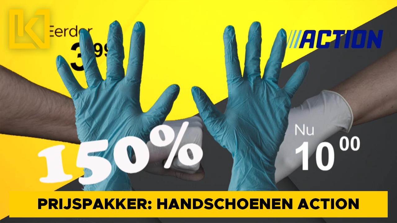 Afbeelding van Prijspakker: wegwerphandschoenen van Action
