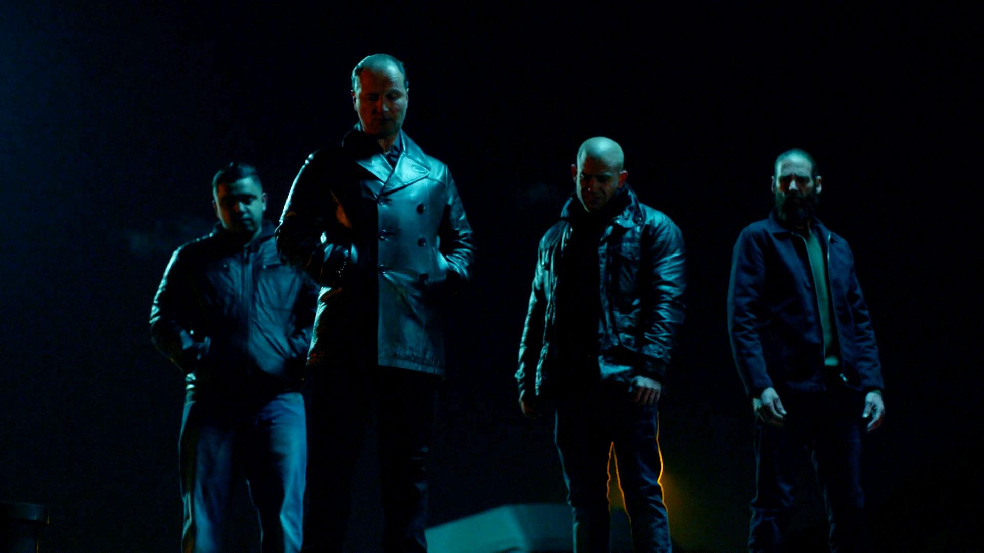 Afbeelding van Backstage bij een stuntscene