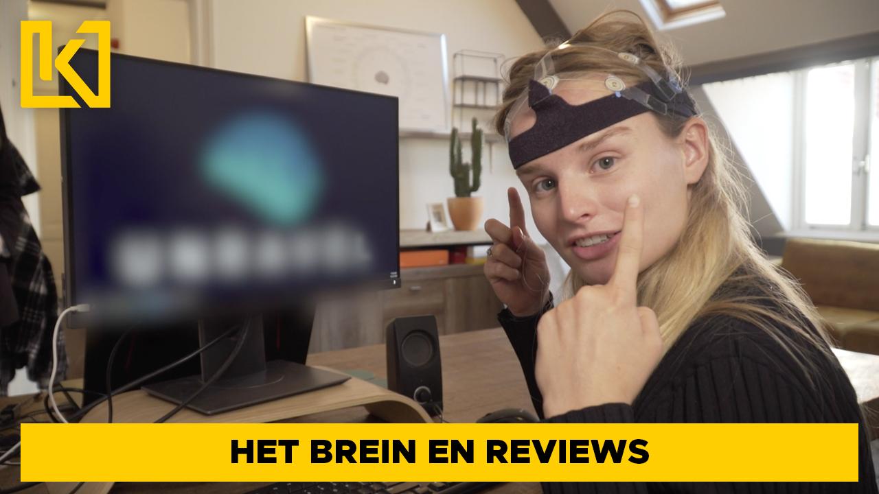 Hoe reageert het brein op reviews?