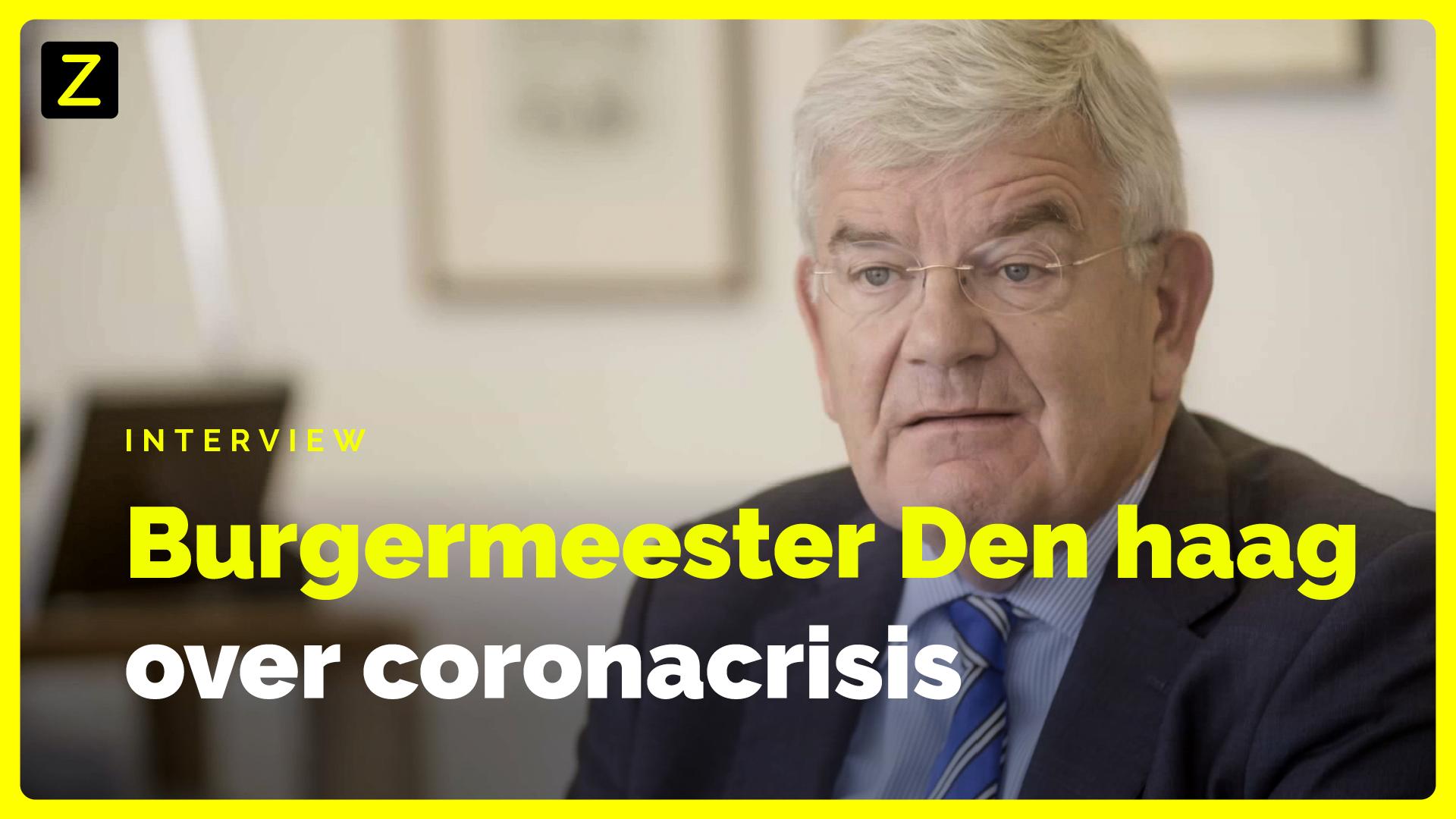 Interview burgemeester Den Haag: 'Je kunt ook demonstreren op een manier die respect afdwingt'