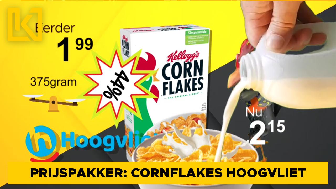 Afbeelding van Prijspakker: Kellogg's cornflakes Hoogvliet