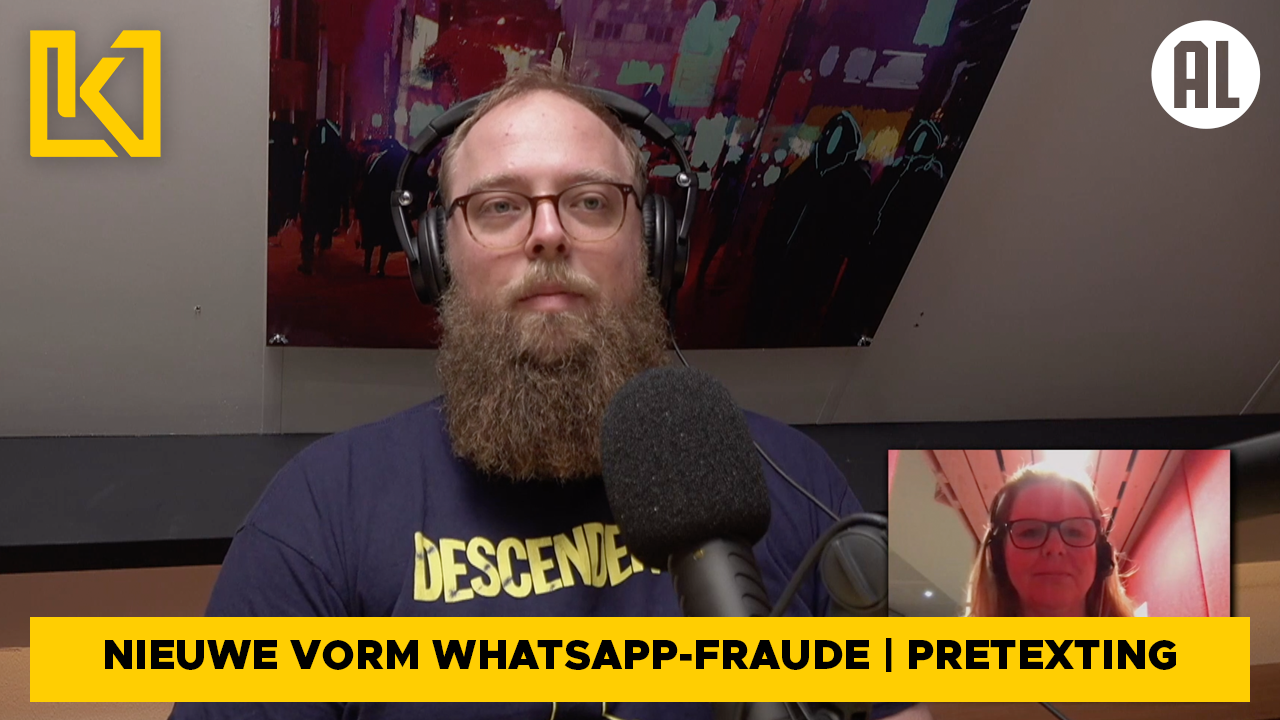 Afbeelding van Cybersecurity experts Rik en Erik over nieuwe vorm van WhatsApp-fraude