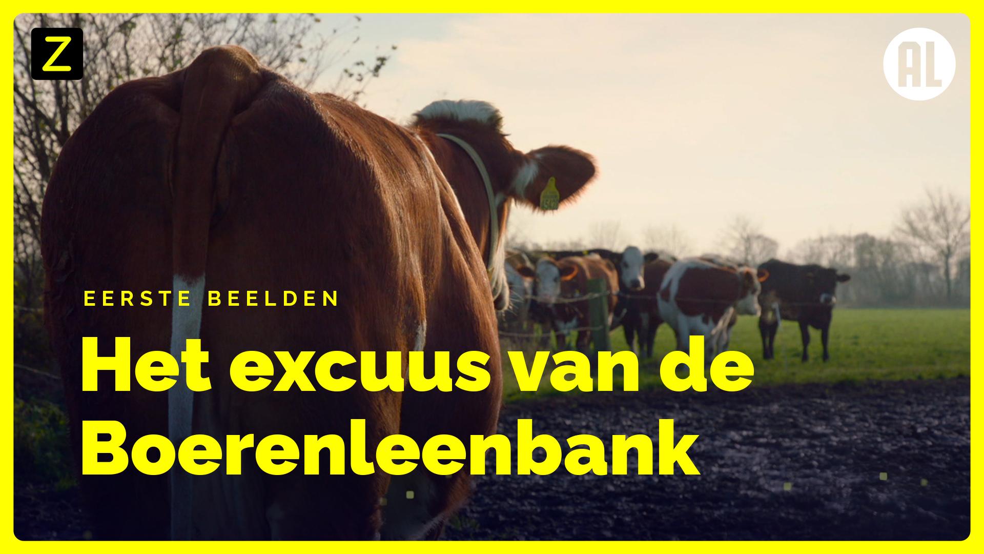 Afbeelding van Eerste beelden uit 'Het excuus van de Boerenleenbank'