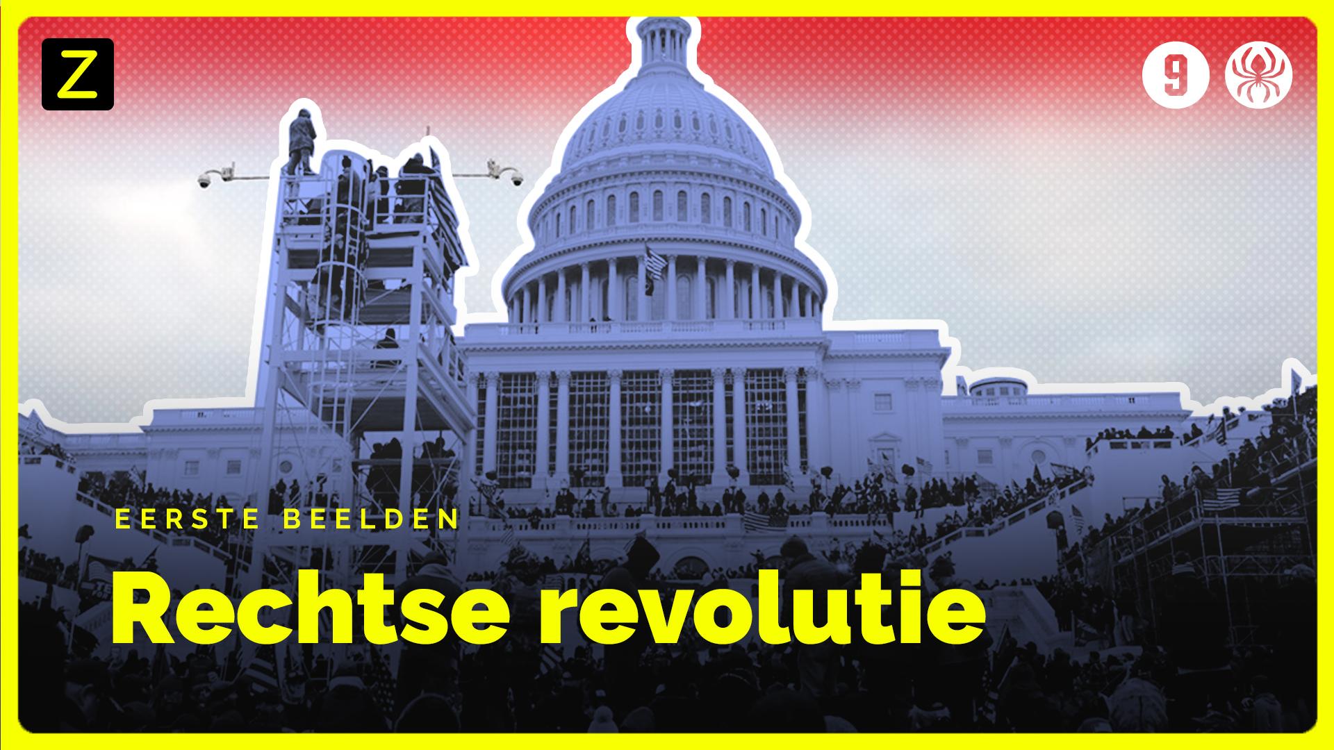 Afbeelding van Eerste beelden uit 'Rechtse revolutie'
