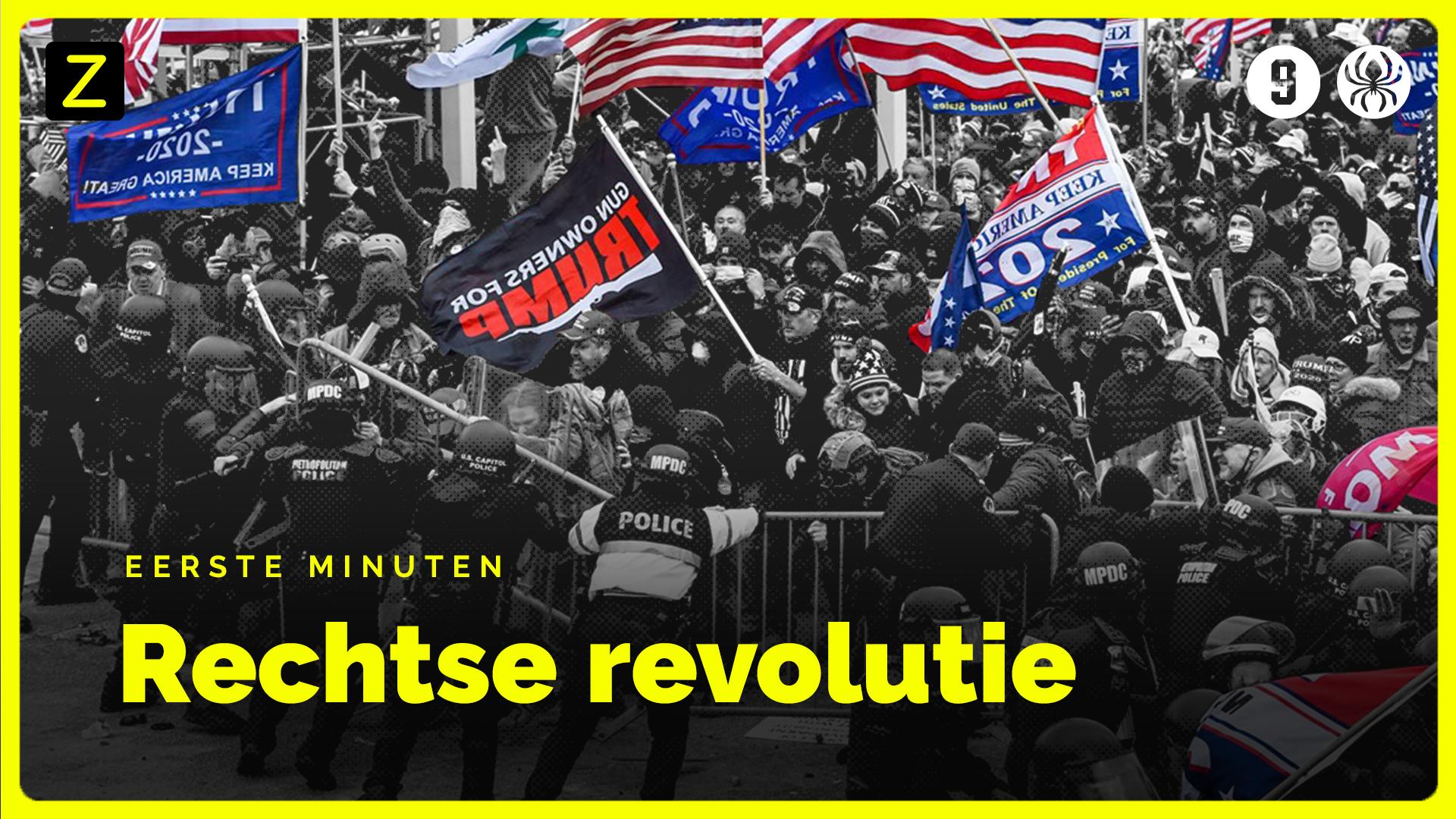 Afbeelding van Eerste minuten uit 'Rechtse revolutie'
