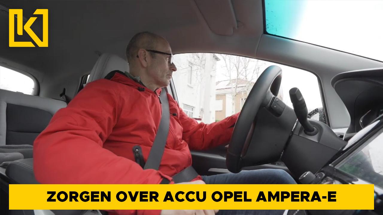 Afbeelding van Zorgen over veiligheid accu Opel Ampera-E