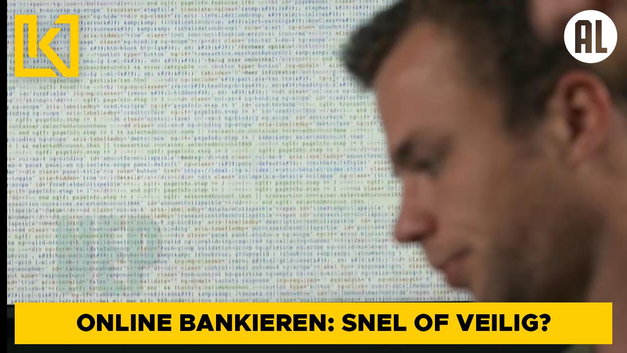 Afbeelding van Online bankieren: staat snelheid of veiligheid voorop?