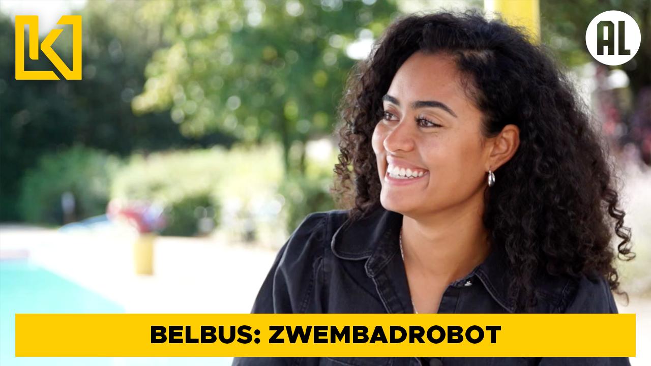 Belbus: Rommelen met een zwembadrobot