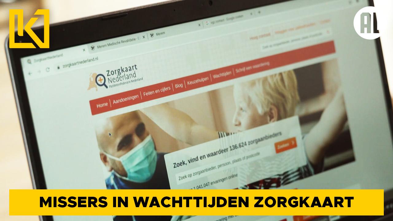Wachttijden Zorgkaartnederland.nl incompleet of onjuist